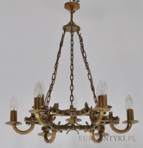 Zupełnie nowe Żyrandol Art Deco - lampa antyk - EuroAntyki CZ67