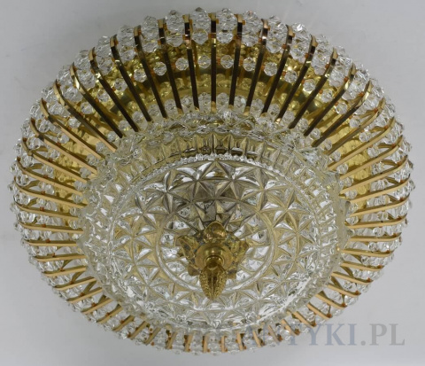 lampa salonowa art deco