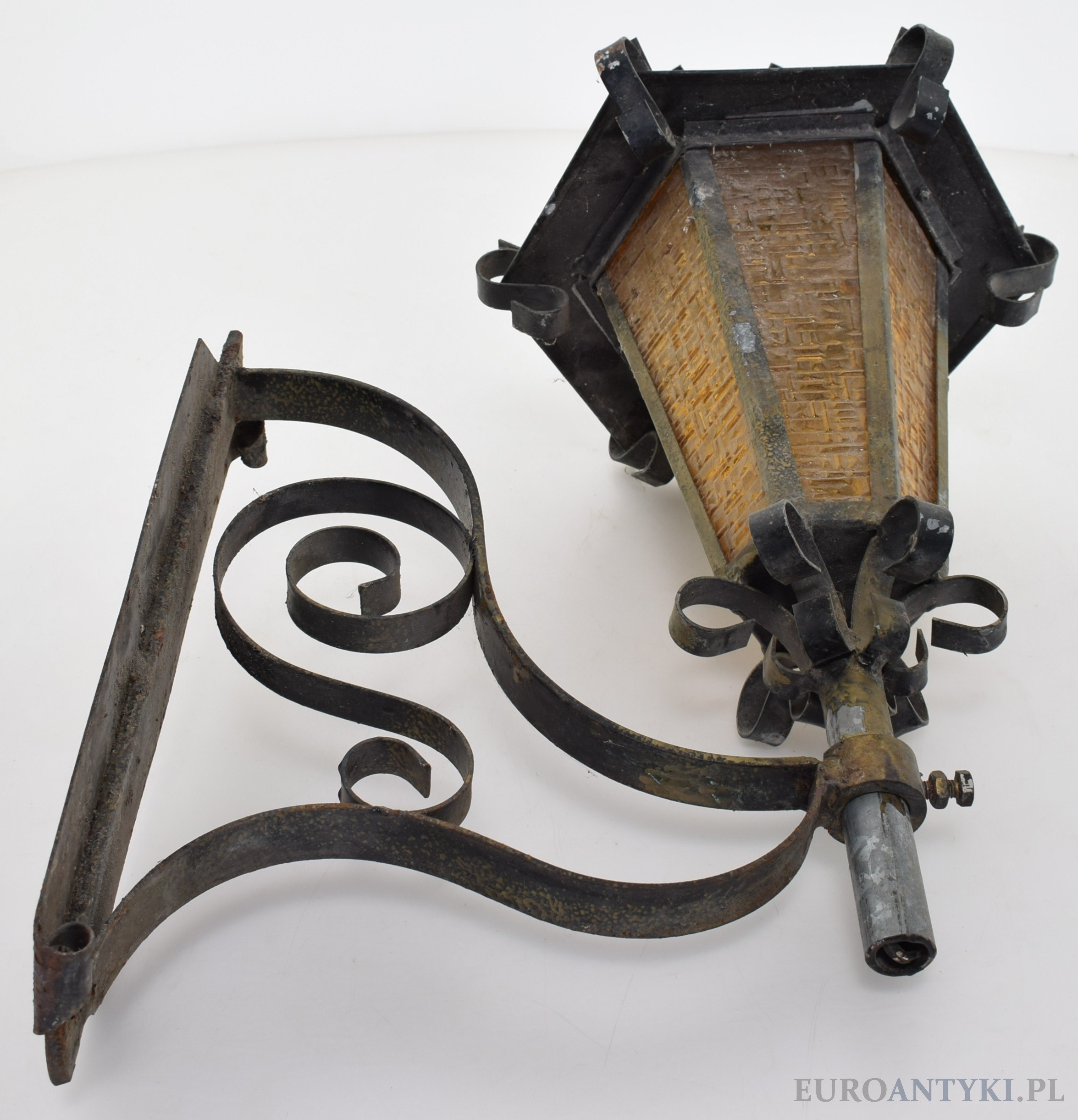 stara lampa do renowacji