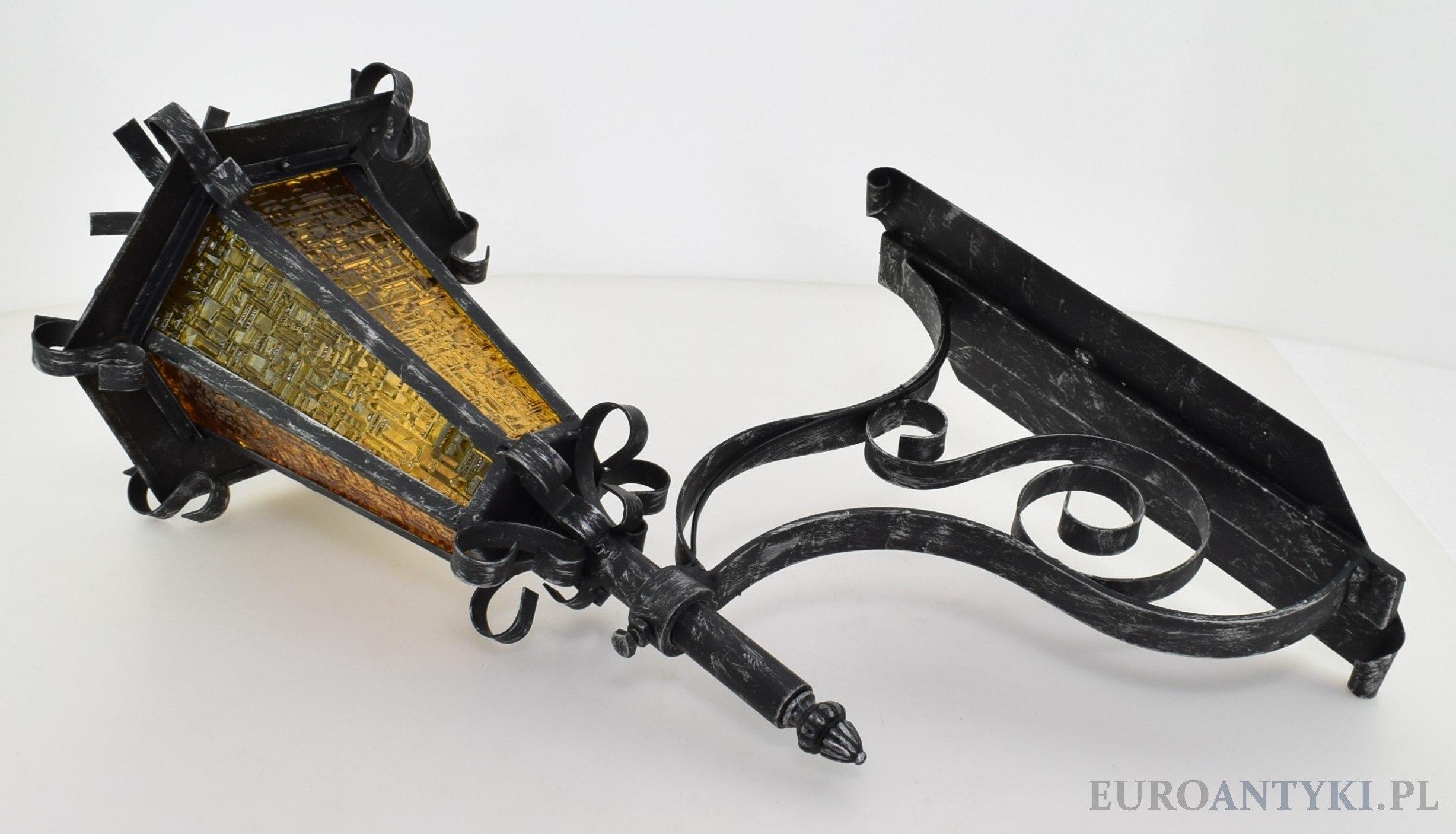 stara lampa po renowacji