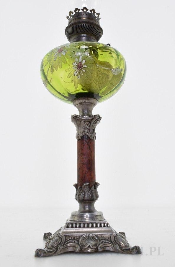 muzealna lampa naftowa