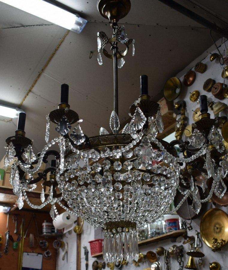 renowacja starej lampy