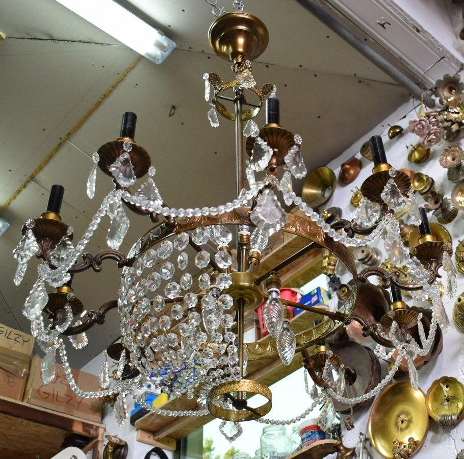 zawieszki kryształowe do żyrandola